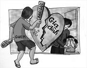 Nữ lao động ngoại tỉnh bị chồng bạo hành