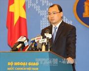 Việt Nam hoan nghênh tuyên bố của Ngoại trưởng G7 về Biển Đông