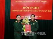 Trao quyết định bổ nhiệm Thứ trưởng Bộ Quốc phòng
