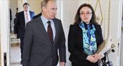 """Bà Nabiullina - """"cánh tay phải"""" của Tổng thống Nga"""