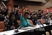 Đại hội Đảng VII Cuba thông qua nhiều văn kiện quan trọng