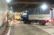 Xe tải tông chết công nhân vệ sinh trong hầm Thủ Thiêm