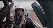 Tập duyệt cho diễu binh Ngày Chiến thắng - từ buồng lái Su-27