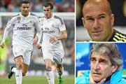 Pellegrini giải bài toán khó Ronaldo