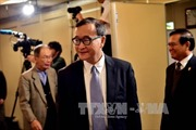 Tòa án Campuchia tiếp tục triệu tập ông Sam Rainsy