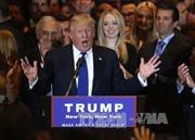 """Donald Trump: """"Cuộc đua đã kết thúc, tôi là đại diện đảng Cộng hòa"""""""