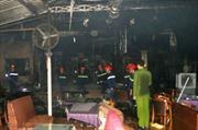 Hỏa hoạn thiêu rụi quán cà phê ở Đắk Lắk