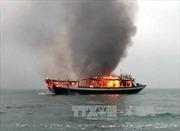 Nổ bình gas trên tàu cá, 2 ngư dân tử vong