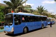Bảo vệ môi trường bằng xe buýt chạy nhiên liệu khí