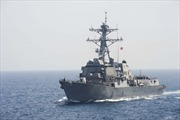 Tàu chiến Mỹ áp sát đá Chữ Thập theo phương thức gì?