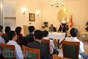 Đại sứ quán Việt Nam tại Đức tổ chức nói chuyện về Bác Hồ