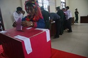 Đồng bào dân tộc ở Mường Tè nô nức đi bầu cử sớm