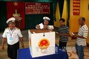 Cử tri Trường Sa gửi trọn niềm tin trong lá phiếu bầu cử