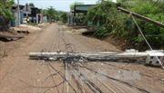 Lốc xoáy tốc mái hàng trăm ngôi nhà ở Bình Phước