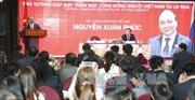 Thủ tướng gặp gỡ cộng đồng người Việt tại Nga