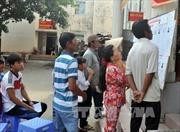 Ngày hội bầu cử sớm ở xã đảo Thổ Châu