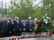 Thủ tướng tới Sochi dự Hội nghị kỷ niệm 20 năm ASEAN-Nga