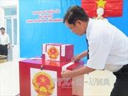 Bầu cử sớm tại 49 khu vực bỏ phiếu ở Quảng Nam