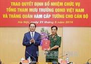 Trung tướng Phan Văn Giang giữ chức Tổng Tham mưu trưởng