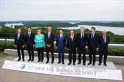 G7 nhất trí về các biện pháp tài chính cho tăng trưởng toàn cầu