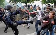 Trước thềm Euro, biểu tình vẫn sục sôi tại Pháp