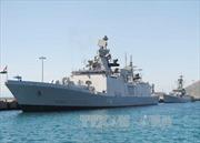 Hai tàu chiến Ấn Độ cập cảng Cam Ranh