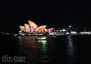 Choáng ngợp với lễ hội ánh sáng Sydney