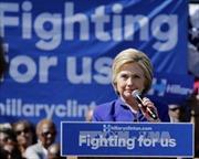 Bà Hillary bứt phá, ông Trump áp đảo tại New Jersey