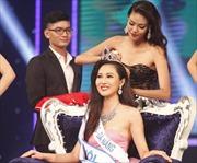Diệu Ngọc đăng quang Hoa khôi Áo dài Việt Nam