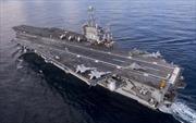 """Tàu sân bay Mỹ ở Địa Trung Hải buộc Nga phải """"suy nghĩ kỹ"""""""
