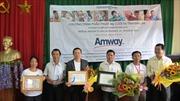 Amway Việt Nam đóng góp hơn 5,6 tỷ đồng cho các hoạt động từ thiện