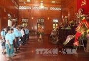 Đoàn công tác của TTXVN và TTX Lào làm việc tại Nghệ An