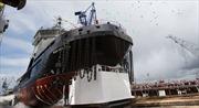 Nga hạ thủy tàu phá băng mới tăng cường cho hải quân tại Bắc Cực