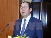 Chủ tịch nước Trần Đại Quang hoan nghênh các sáng kiến phát triển của Ấn Độ