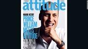 Hoàng tử William lên trang bìa tạp chí đồng tính Anh