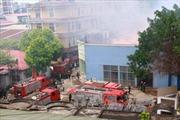 Vụ cháy ở 109 đường Trường Chinh đã được dập tắt