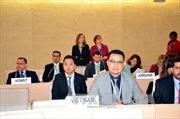 Việt Nam đóng góp tích cực tại Hội đồng Nhân quyền LHQ