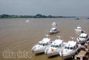 Cảnh sát biển Việt Nam nghiệm thu kỹ thuật 4 xuồng cao tốc MS-50S