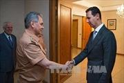 Bộ trưởng Quốc phòng Nga tới Syria bàn hợp tác quân sự