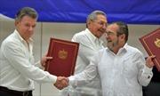 Chính phủ Colombia và FARC chính thức ký thỏa thuận ngừng bắn