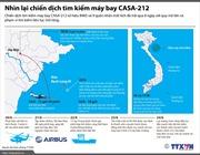 Nhìn lại chiến dịch tìm kiếm máy bay CASA-212
