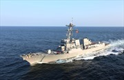 Tàu chiến Nga, Mỹ suýt va chạm ở Địa Trung Hải
