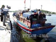 Ngư dân mất tích ở vùng biển Thái Lan đã về đến Cà Mau