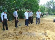 Vụ Formosa chôn chất thải tại Cẩm Xuyên: Huyện thừa nhận chủ quan