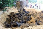 Phát hiện thêm điểm chôn chất thải của Formosa ở Kỳ Anh