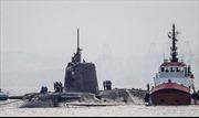 Tàu ngầm hạt nhân Anh va tàu hàng