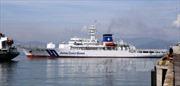 Tàu huấn luyện Nhật Bản thăm hữu nghị Đà Nẵng