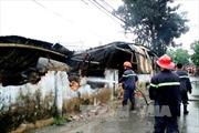 Cháy xưởng đồ chơi, hàng trăm công nhân tháo chạy