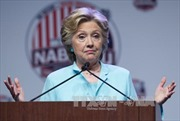 Bà Clinton tiếp tục dẫn trước đối thủ Trump