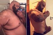Trút bỏ 136 kg, chàng trai Mỹ biến hình ngoạn mục
